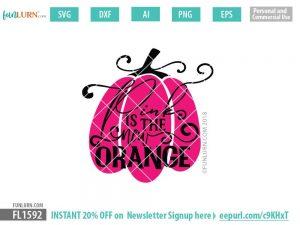 Pink is the new orange SVG
