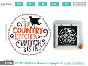 The country kitchen witch is in SVG