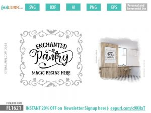 Enchanted Pantry SVG