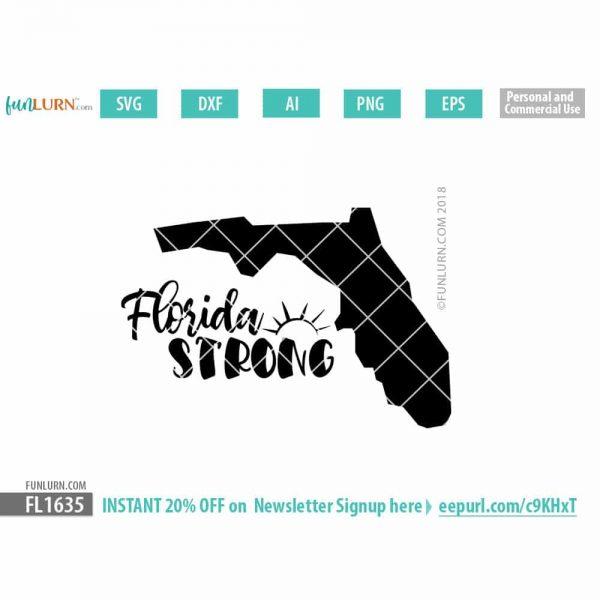 Florida Strong SVG