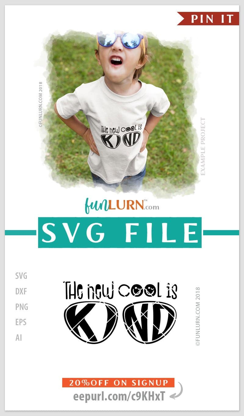 Kind is the new cool SVG