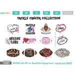 Tackle Cancer Collection SVG Bundle