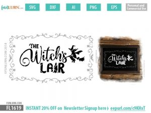 Witch's Lair SVG