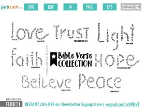 Bible Verses SVG Bundle