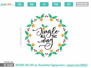 Jingle all the way SVG file