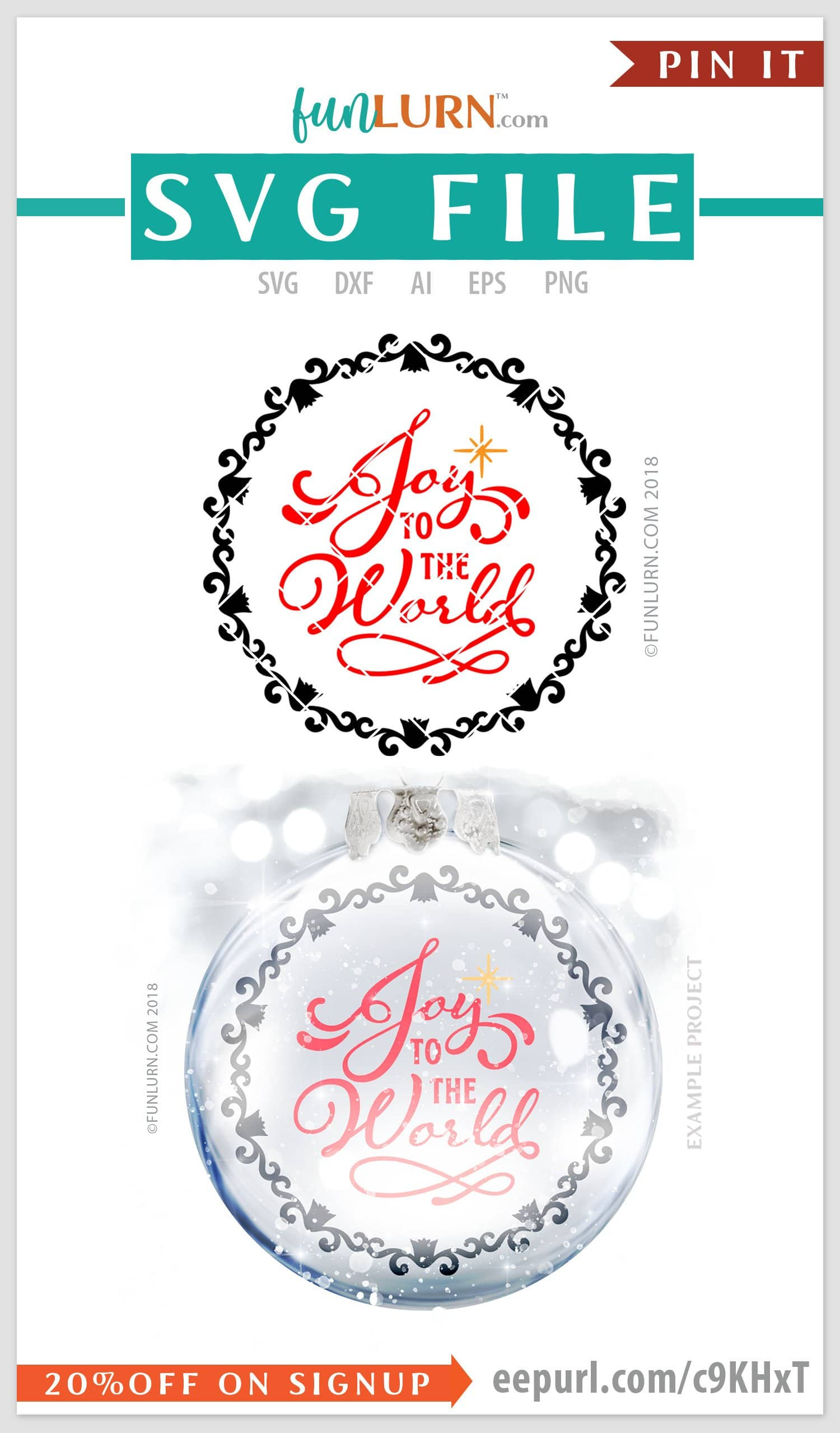 17+ Joy To The World Svg Cut File – Christmas Svg PNG