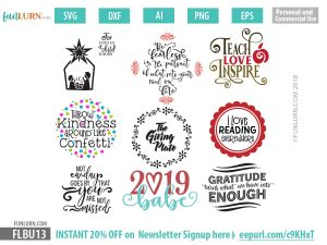 Celebration SVG bundle