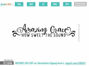Amazing Grace SVG