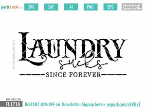 Laundry sucks since forever SVG