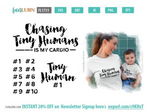 Chasing tiny humans is my cardio SVG