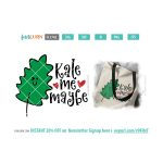 Kale me maybe SVG