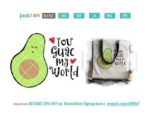 You guac my world SVG