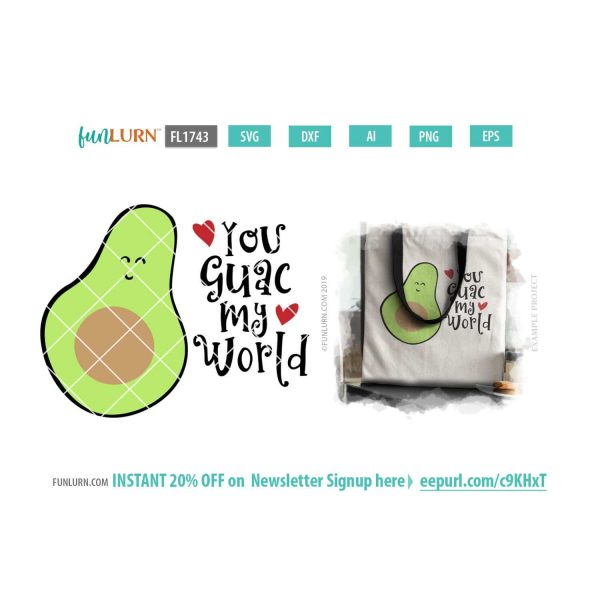 You guac my world SVG