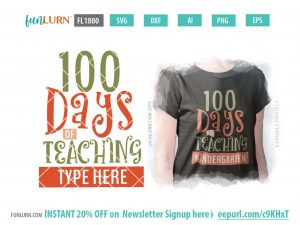 100 days of teaching