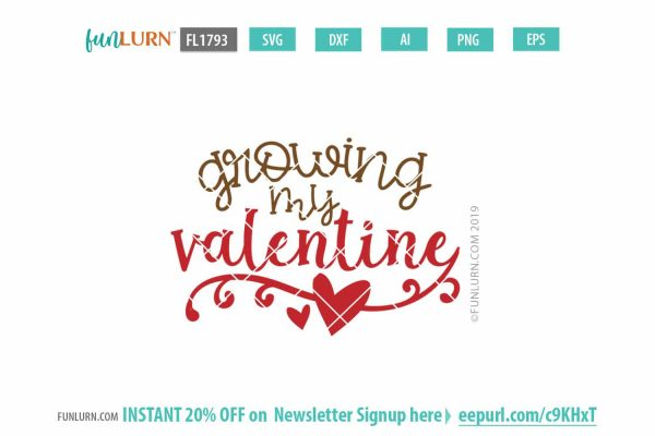 Growing my valentine
