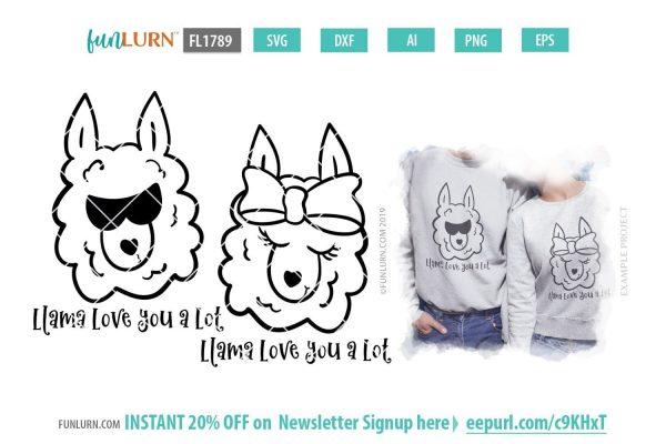 Llama love you a lot