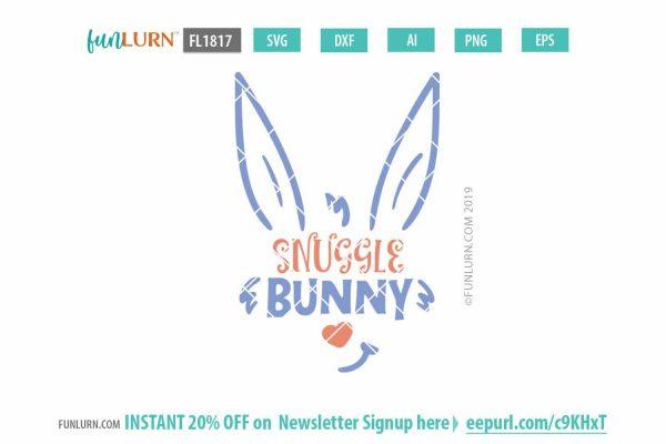 Snuggle Bunny svg