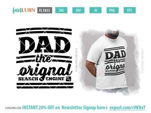 Dad the original search engine