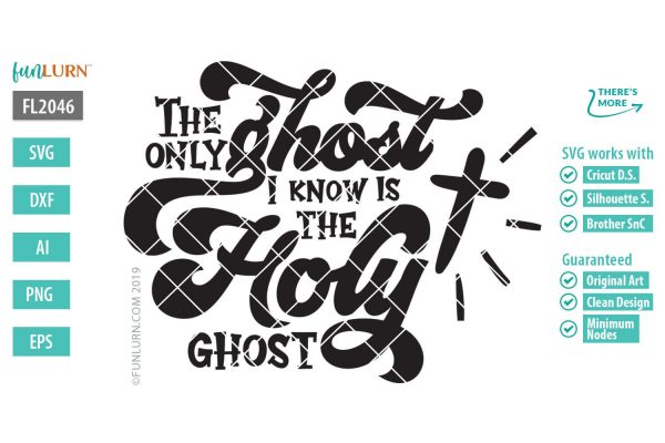 The only ghost I know is the holy ghost svg