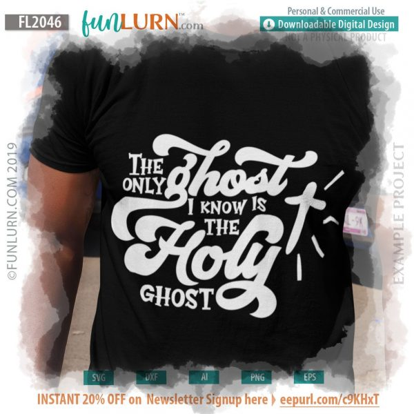 The only ghost I know is the Holy Ghost