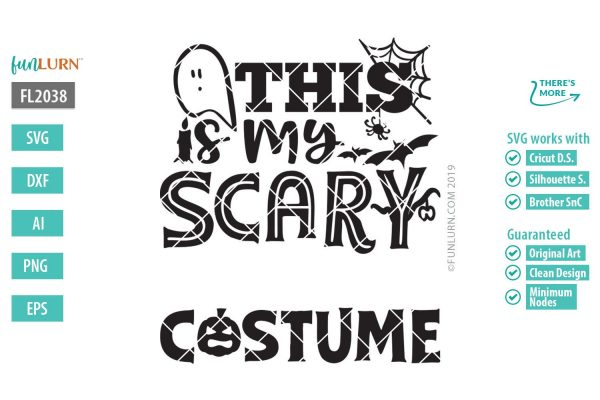 This is my scary blank costume