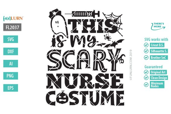 This is my scary nurse costume