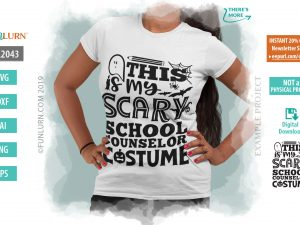 This is my scary School Counselor costume
