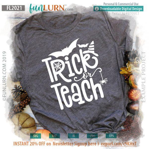 Trick or Treach svg