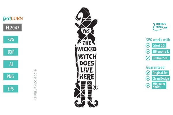 Yes the wicked witch does live here