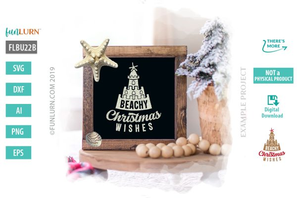 Beachy Christmas Wishes