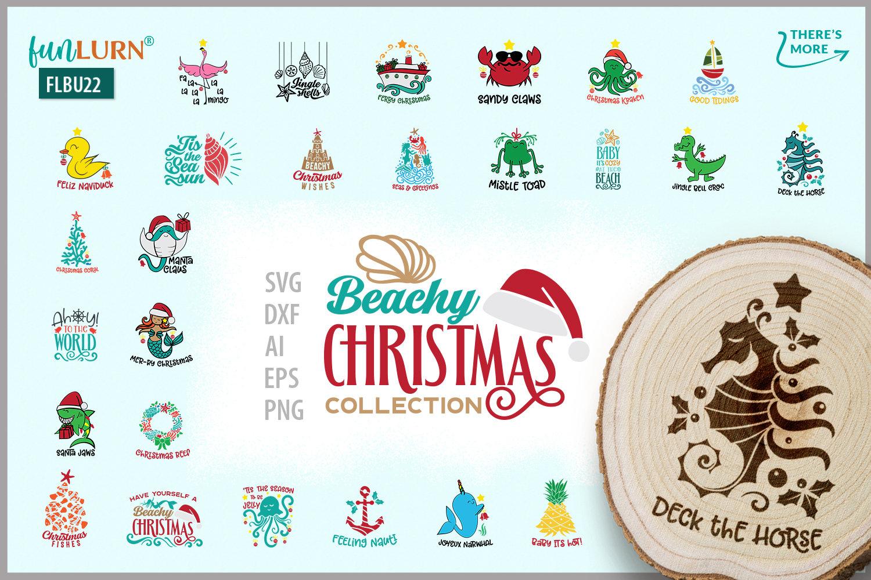 beachy christmas svg collection svg cut file bundle funlurn beachy christmas svg collection svg cut file bundle