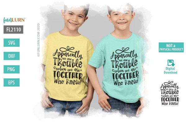 Sibling shirts svg