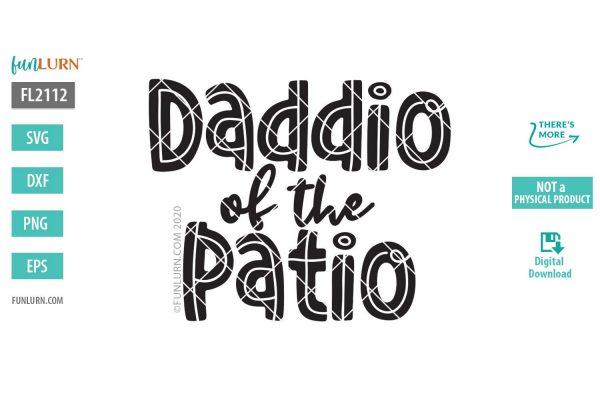 Daddio of the Patio SVG