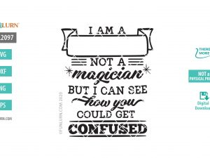 I am a blank not a magician