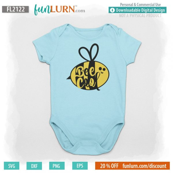 Bee cool svg
