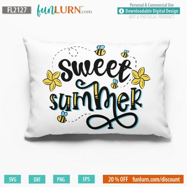 Sweet summer svg