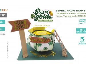 Leprechaun Trap SVG